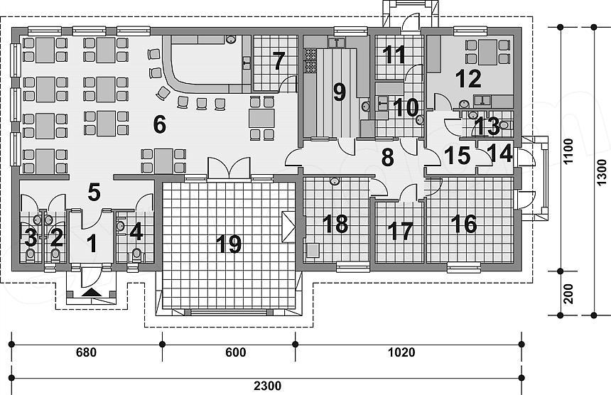 Projekt Murator Uc30 Budynek Usługowy Projekty Dla Biznesu